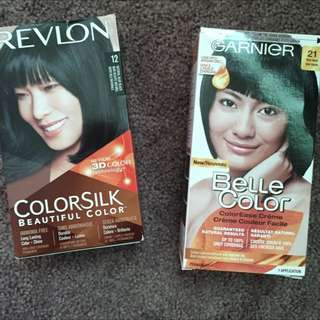 BRAND NEW BLACK HAIR DYE