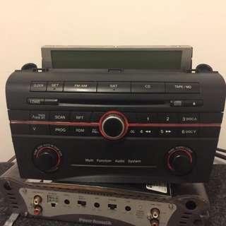 Mazda 3 Stock Radio