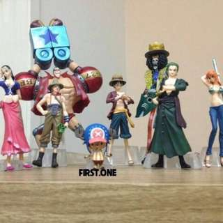 Straw Hat Pirate Member Figures One Piece