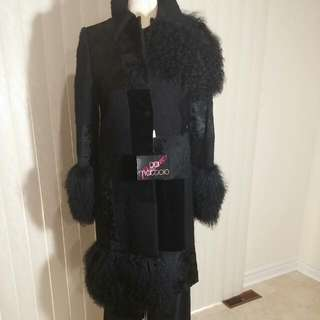Gai Mattiolo. Haute Cuture Luxury Coat
