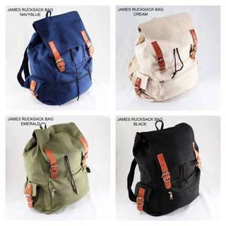JAMES RUCKSACK BAG