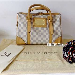 💯 Authentic Louis Vuitton Damien Azur