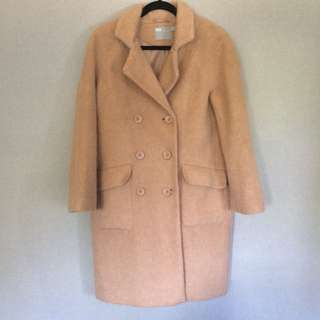 ASOS Cocoon Coat in Camel
