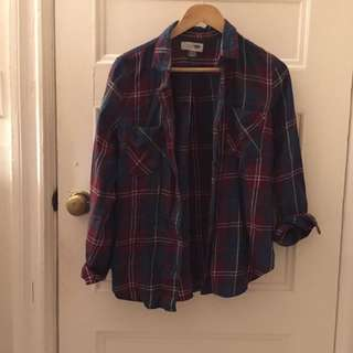 Old Navy Flannel, Size M