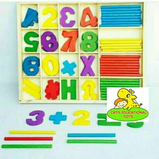 Math Counting Sticks