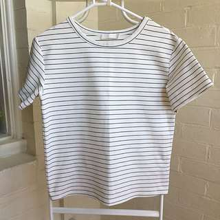 Talulah Striped Tee