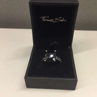 Thomas Sabo Black Onyx Ring