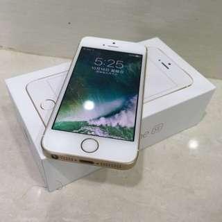 降價!! iPhone SE 64gb 金 保固內