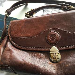 Vintage Medium Genuine Leather Bag