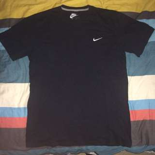 Nike Authentic Regular Fit T Shirt- BLACK
