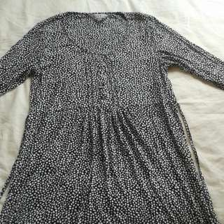 Black Spotty Dress