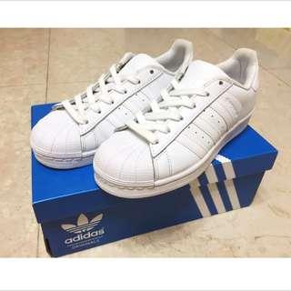二手 Adidas 全白愛迪達鞋