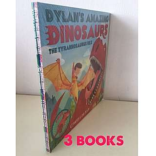 Dylan's Amazing Dinosaurs Collection (3 Books)