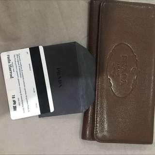 Prada Milano Wallet