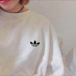 Adidas 大學T