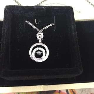 Mabelle鑽石吊咀連18k白金鏈