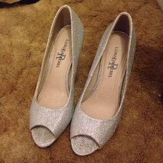 London Rebel Silver Heels
