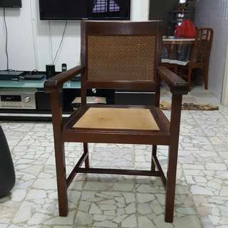 Old Days School & Office Wooden Chair