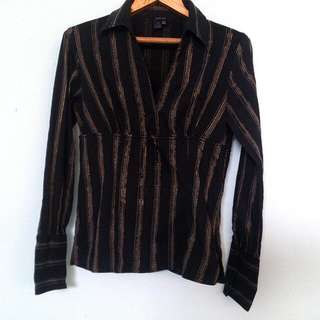 Zara Basic Blouse Size M