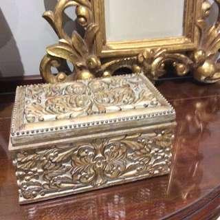 Old World Trinket Box