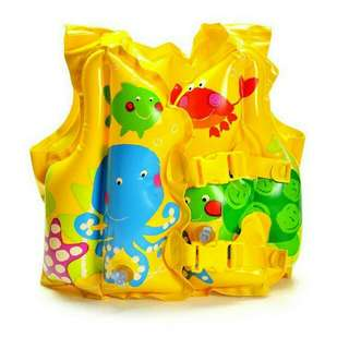 *FREE DELIVERY / Ready stock* Kids swimming float (1 design without air) as shown design/color. Free delivery applied for this item.