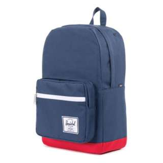 [INSTOCK] Herschel Pop Quiz Full Volume, Navy/Red