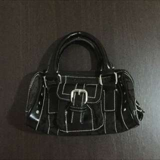 Black Calvin Klein mini handbag