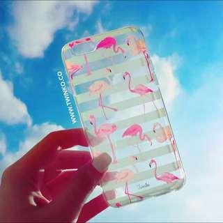iPhone 6s手機殼-紅鶴