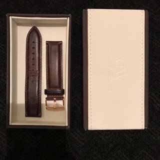 Daniel Wellington Brown Leather Band For Large Watch