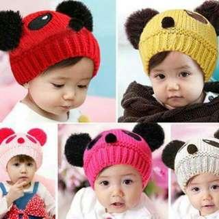 冬季小熊帽