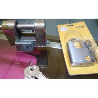 MOVING HOUSE SALE: Padlock BN YALE $15 AND USED VIRO $25