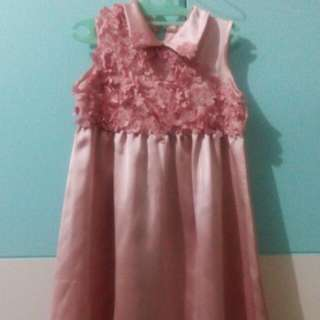 dress party Anak ( 2-4 Y Old)
