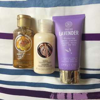 BUNDLE: THE BODY SHOP & GRACE COLE