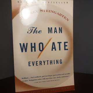 The Man Who Ate Everything By Jeffrey Steingar
