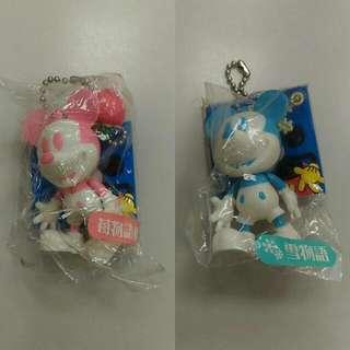 正版全新迪士尼米妮吊飾搖頭娃娃Disney日本帶回