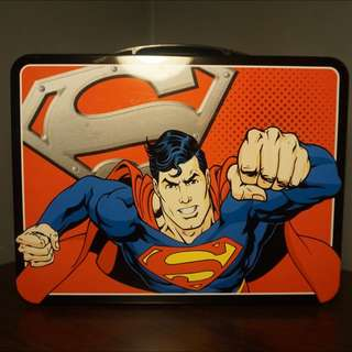 Superman Tin Lunchbox