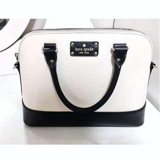 Black&White Kate Spade Handbag ♠️