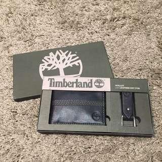 Timberland 真皮 皮夾 簡單款 禮盒組
