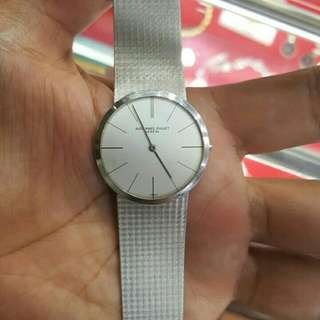 Solid White Gold Antique Watch 58gms. 50's model up audiemars piaget Watch For Men,
