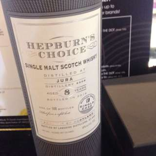 Hepburn's Choice 8yrs Single Malt Scotch Whisky