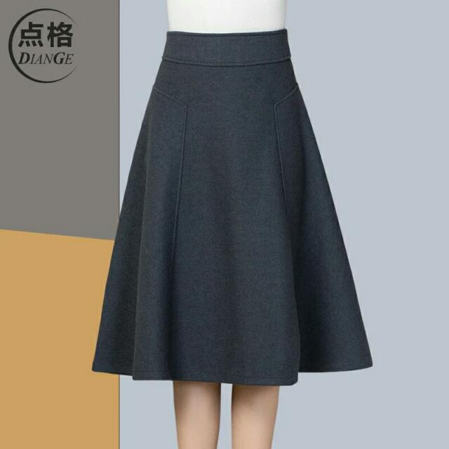 秋冬半身裙高腰裙