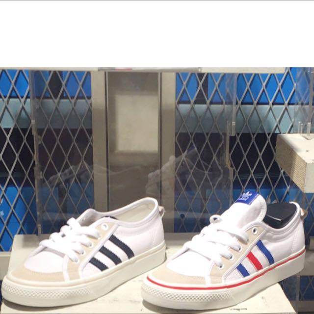 Adidas nizzalo愛迪達帆布