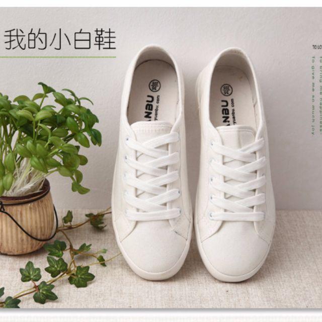 全新 小白鞋 優惠價~11/6止