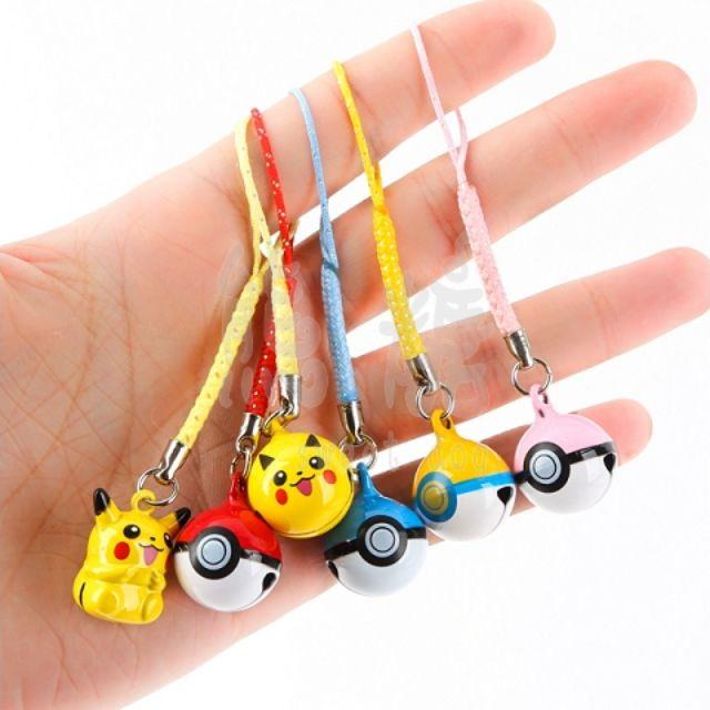 ๑熊糖๑ Pokemon 寵物小精靈 寶可夢 口袋妖怪 神奇寶貝 皮卡丘 比卡丘 迷你鈴鐺