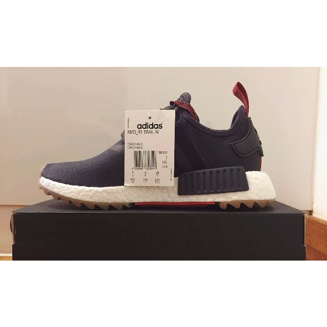 fd43dec77 ADIDAS NMD R1 TRAIL WOMEN S UTILITY BLACK   CHOCOLATE UK 5 US 6.5 ...