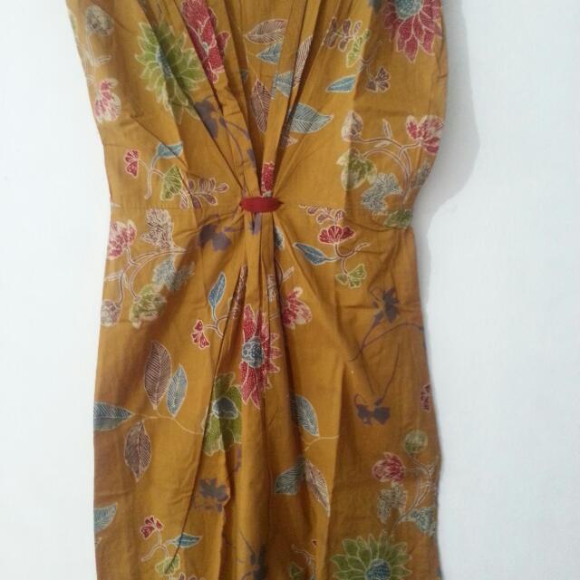 Batik Halus Model Dress
