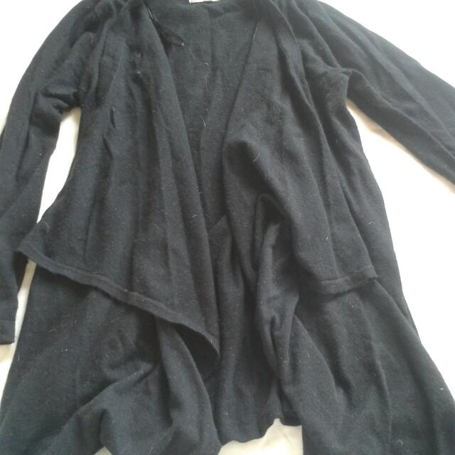 Black Flowy Cardigan