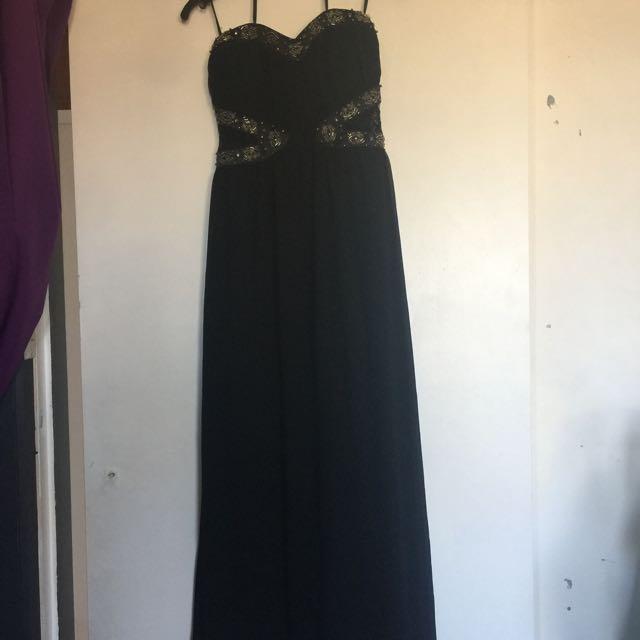 Black Maxi Dress Small