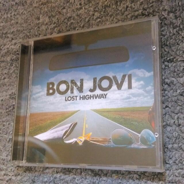 Bon Jovi - Lost Highway 2CD New Unsealed&unplayed