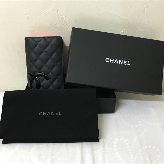 Chanel康朋長夾皮夾